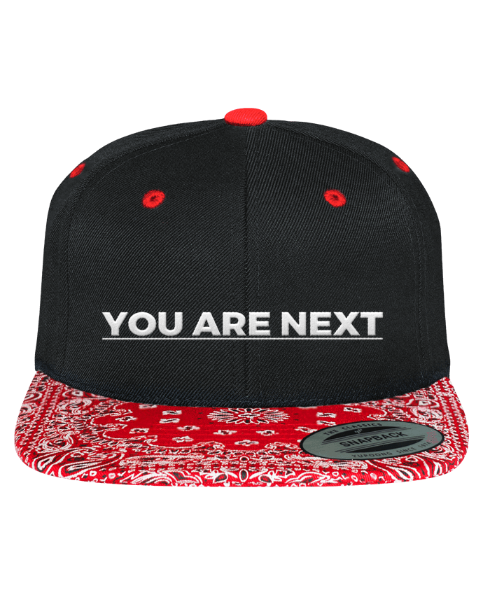 Casquette Snapback Motif You are next par tunetoo