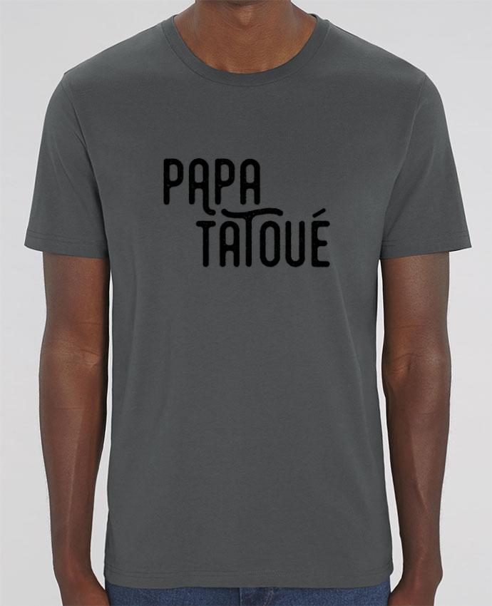 T-Shirt Papa Tatoué par tunetoo