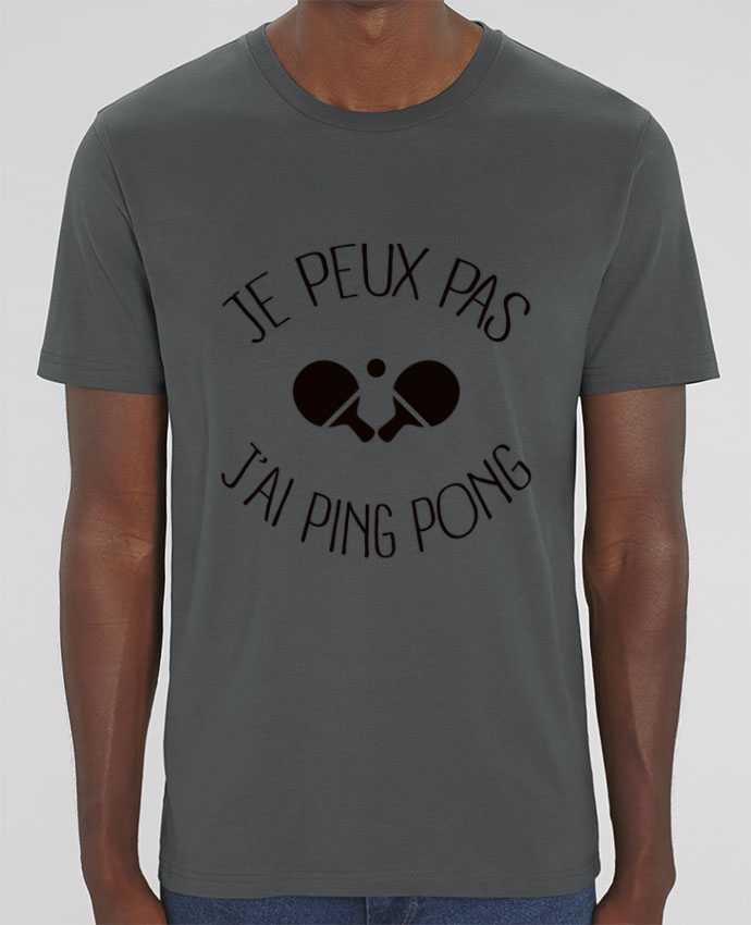 T-Shirt je peux pas j'ai Ping Pong par Freeyourshirt.com