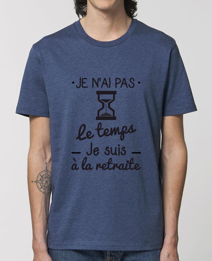 T-Shirt Pas le temps, je suis à la retraite, tee shirt retraité par Benichan