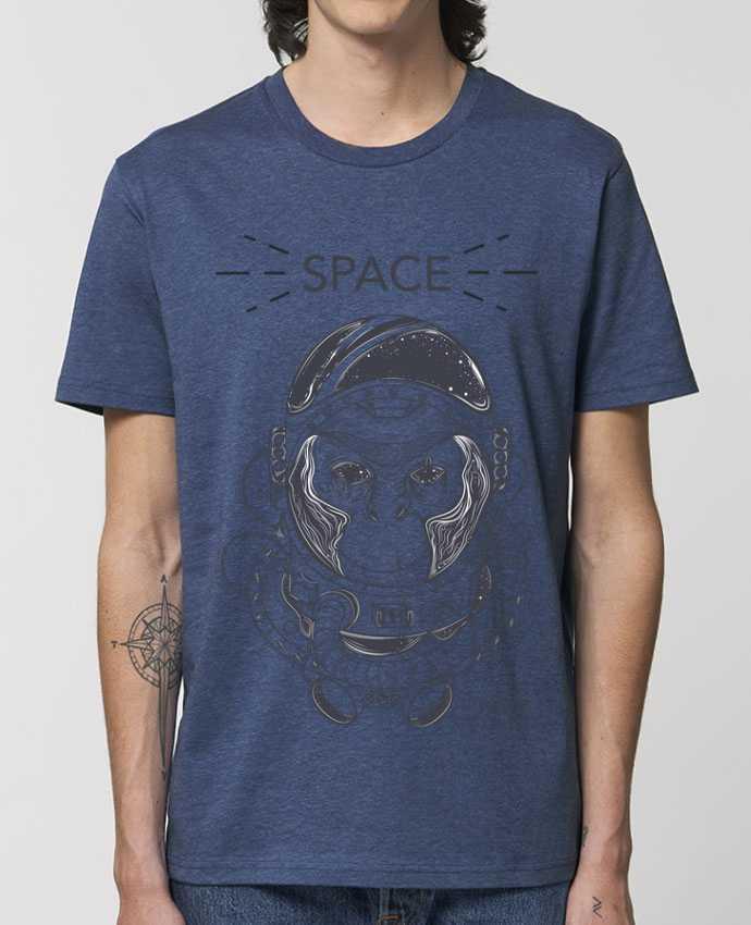 T-Shirt Monkey space par Mauvaise Graine