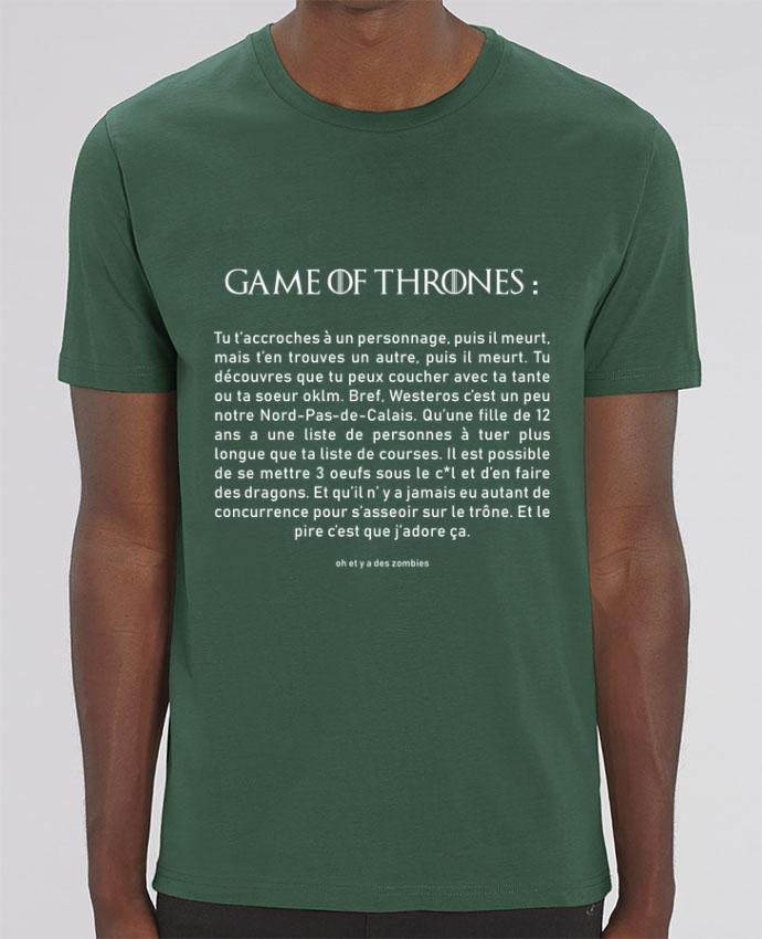 T-Shirt Résumé de Game of Thrones par tunetoo