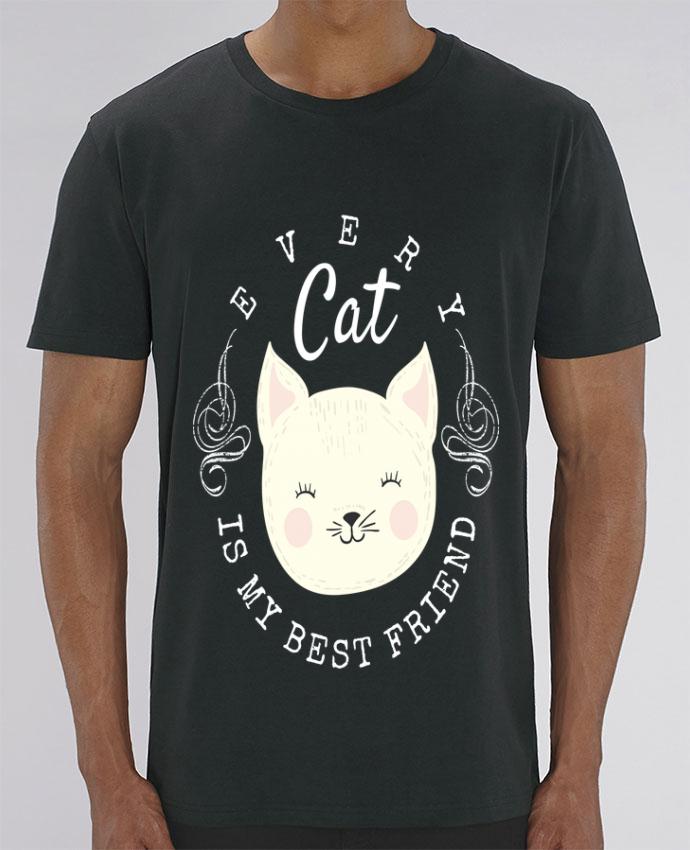 T-Shirt every cat is my best friend par livelongdesign