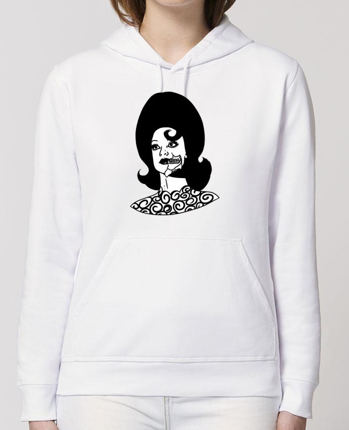 Sweat-Shirt Capuche Essentiel - Unisexe Drummer Miss Alien Par tattooanshort