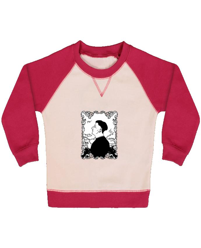 Sweat Shirt Bébé Col Rond Manches Raglan Contrastées Godefroy de montmirail par tattooanshort