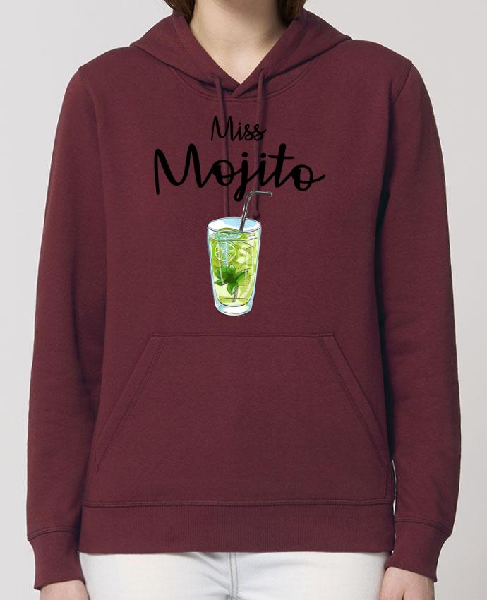 Sweat-Shirt Capuche Essentiel - Unisexe Drummer Miss Mojito Par FRENCHUP-MAYO