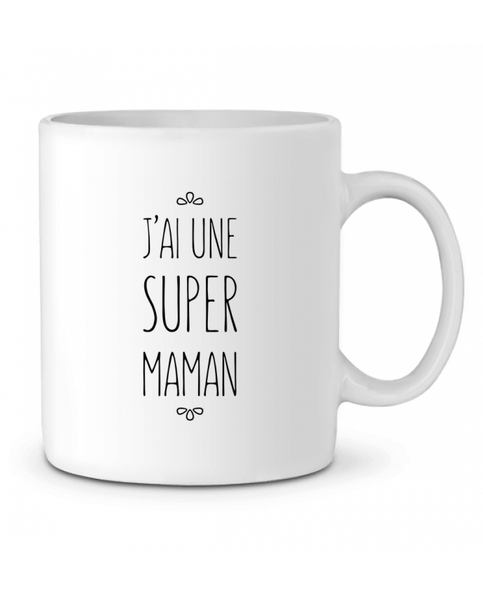 Mug en Céramique J'ai une super maman par tunetoo
