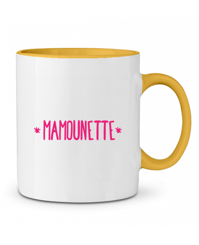 Mug bicolore Mamounette tunetoo