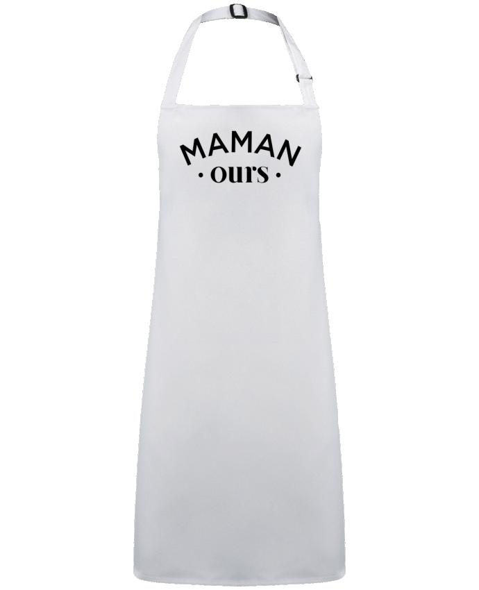 Tablier Sans Poche Maman ours par  tunetoo