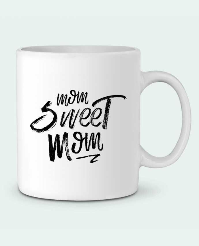 Mug en Céramique Mom sweet mom par tunetoo