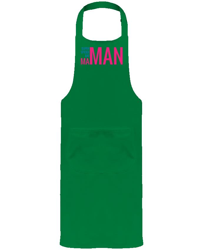 Tablier de Jardinier ou Sommelier avec Poche superMAMAN par tunetoo