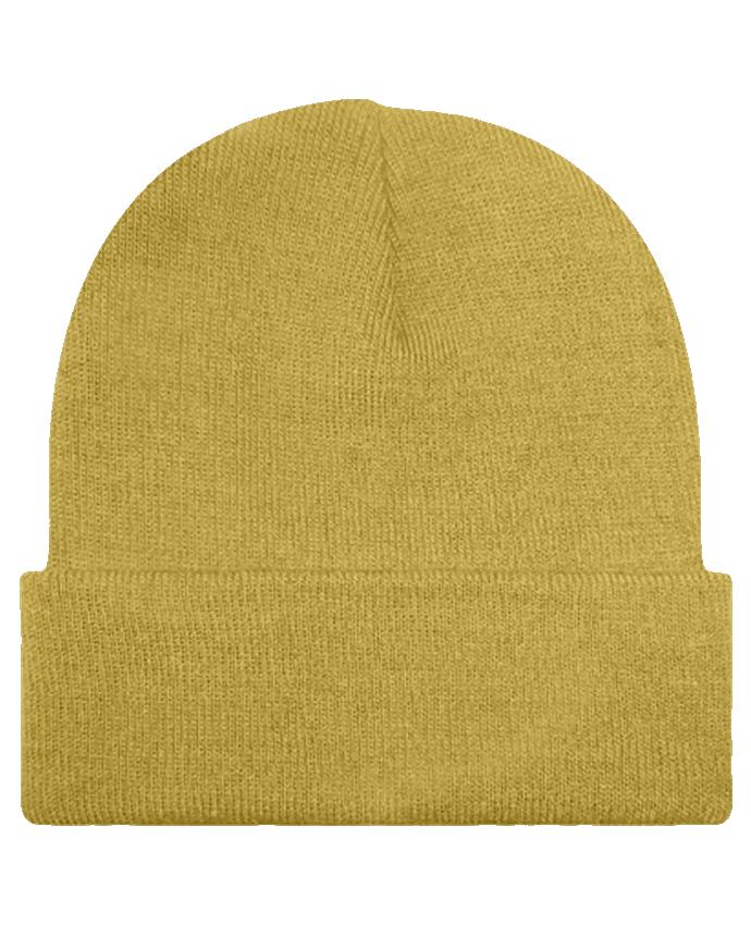 Bonnet  Râleuse moutard by Tunetoo